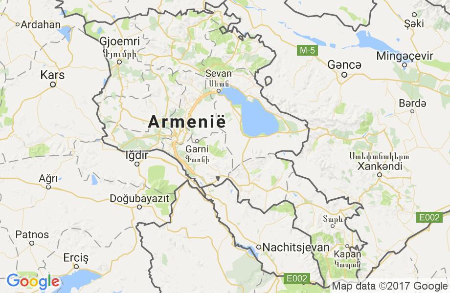 Waar Ligt Armenie