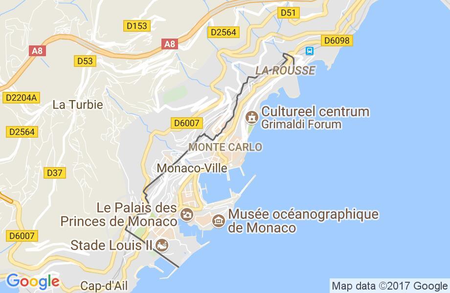 Waar Ligt Monaco Op De Kaart Kaart 2018