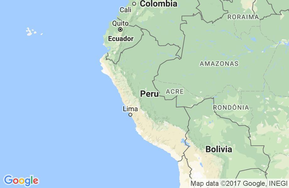 Waar ligt Peru?