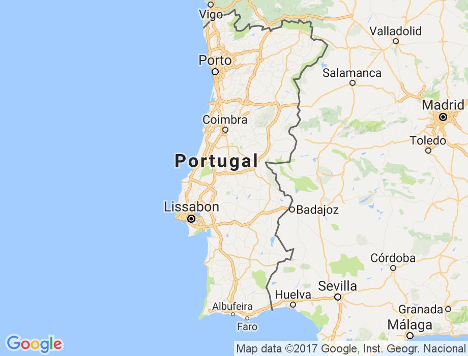 Kaart Wallpaper Kaart Portugal