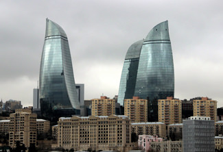 Flame Towers Azerbeidzjan